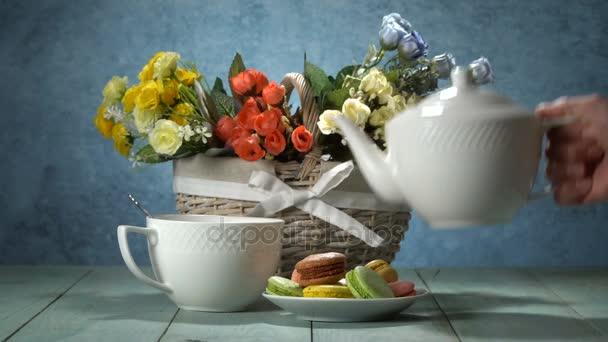 Čaj porce složení