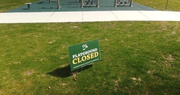 Playground Closure COVID-19 Pandemic