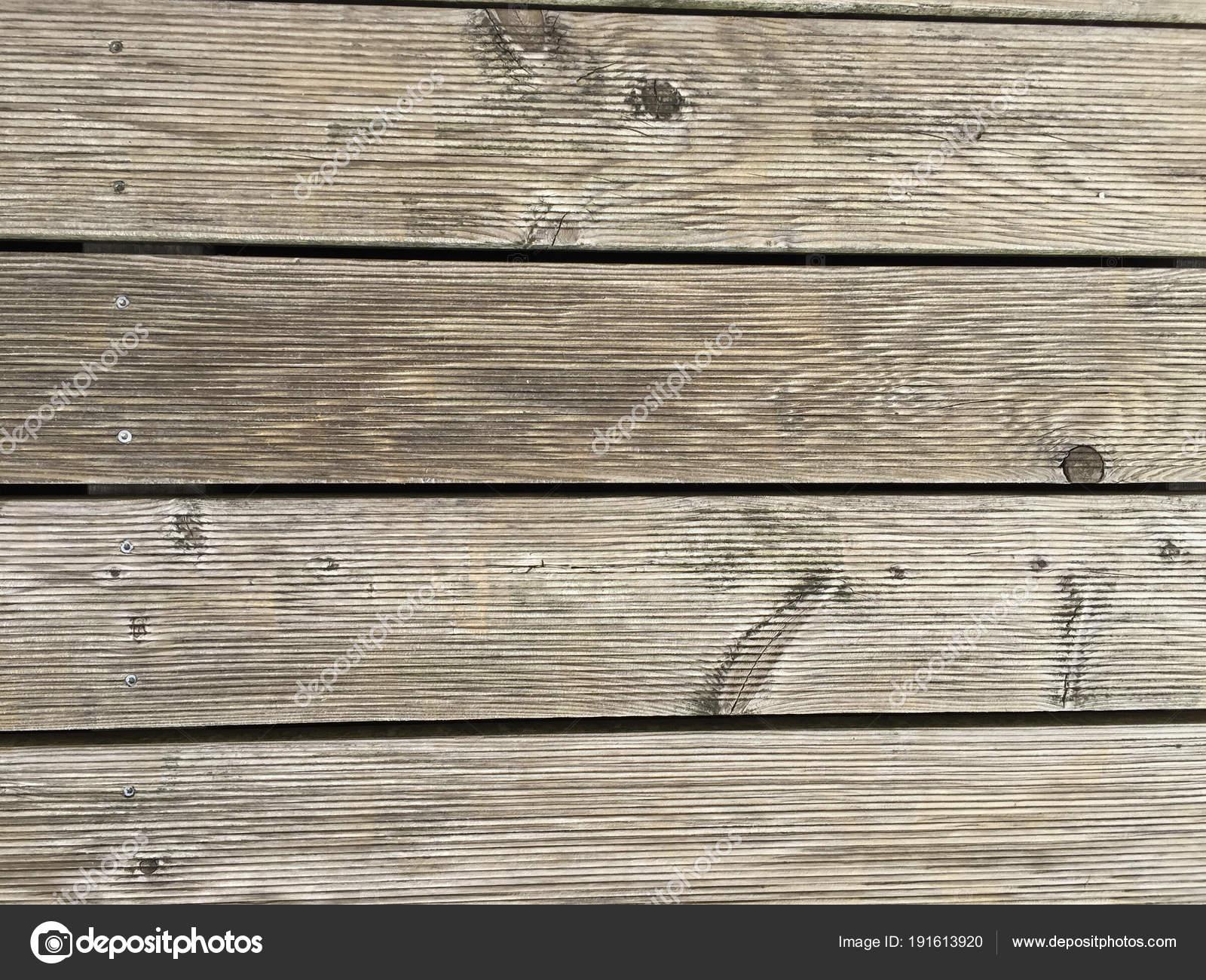 Bankirai Hard Wood Terrace Panels Stock Photo