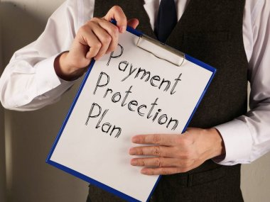 Payment Protection Plan is shown on the conceptual business photo
