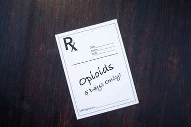 Opioid Prescription with 5 day dosage