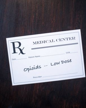 Opioid Prescription - low dose