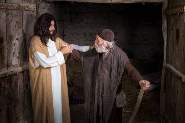 Jesus healing the lame