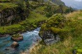 Torrente di montagna. Norvegia