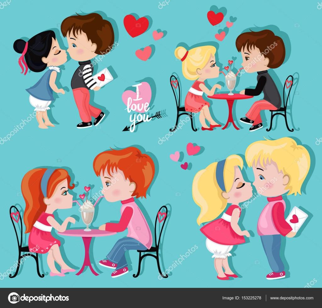 Dibujos Sombras De Parejas Enamoradas Caricatura Día De Los