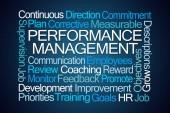 Fotografie Performance Management Word Cloud