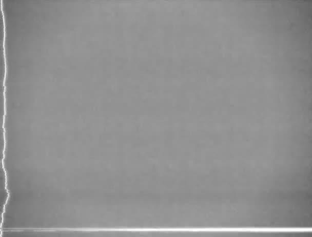 Sérült Tv monokróm statikus háttér hurok