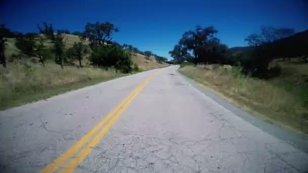 Jízda po silnici Rural