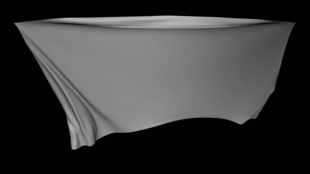 Slow Motion Cloth Loop with Alpha Matte