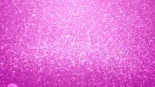 Extra rózsaszín szóda buborékok háttér hurok.