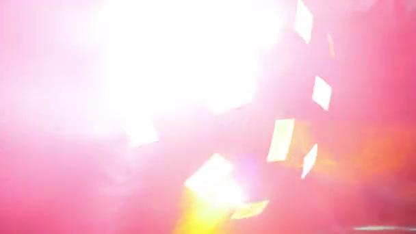 színes fények, projektor