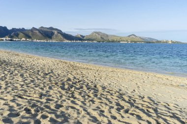 beautiful Mediterranean seaside
