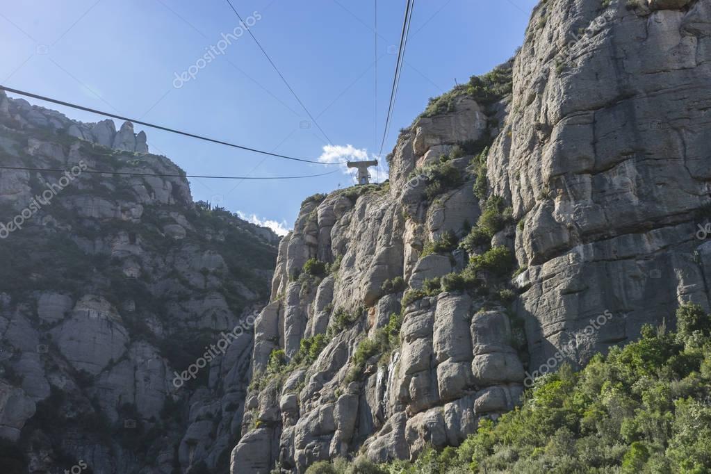 Cable road,   Montserrat Monastery