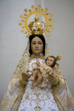 Virgin mary. Holy Week in Spain