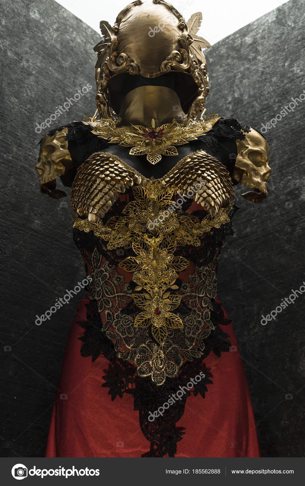golden dragon scale armor