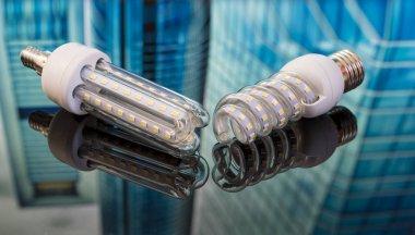 modern, energy saving bulb