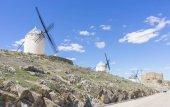 Fotografie Reisen, schöne Sommer über die Mühlen auf dem Gebiet in Spanien