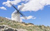 Fotografie Mittelalterlich, schöne Sommer über die Mühlen auf dem Gebiet in Spanien