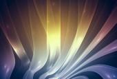 Fotografie Abstraktion dunklen farbigen Hintergrund für Karte und andere Design-Kunstwerke. Abstrakte orange Hintergrund mit Fraktalen Wellen