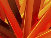 Absztrakt geometriai narancssárga háttér a tervezési. absztrakt tűz háttér lágy görbékkel