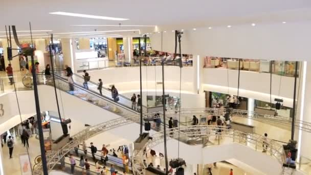 Bangkok, Thajsko - 26 prosince 2017: Siam Paragon nákupní centrum