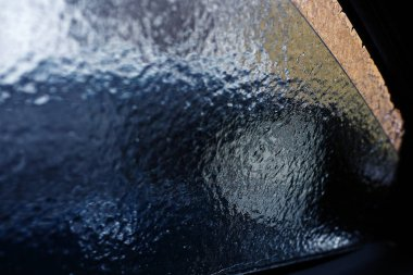 icy car glass texture