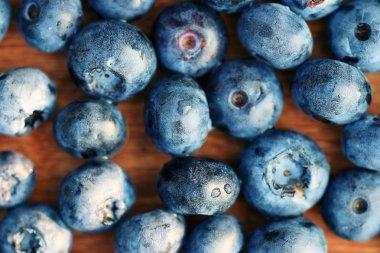 fresh berries, blueberries