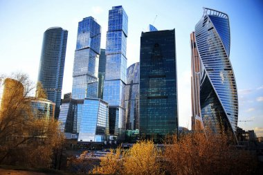 Business center of Moscow city