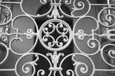 Forged decoration of the balcony