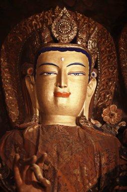 Buddhist statue in temple