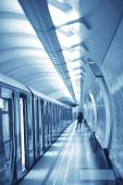kocsi vonat metró mozgás, szállítási koncepció elvont háttér emberek nélkül