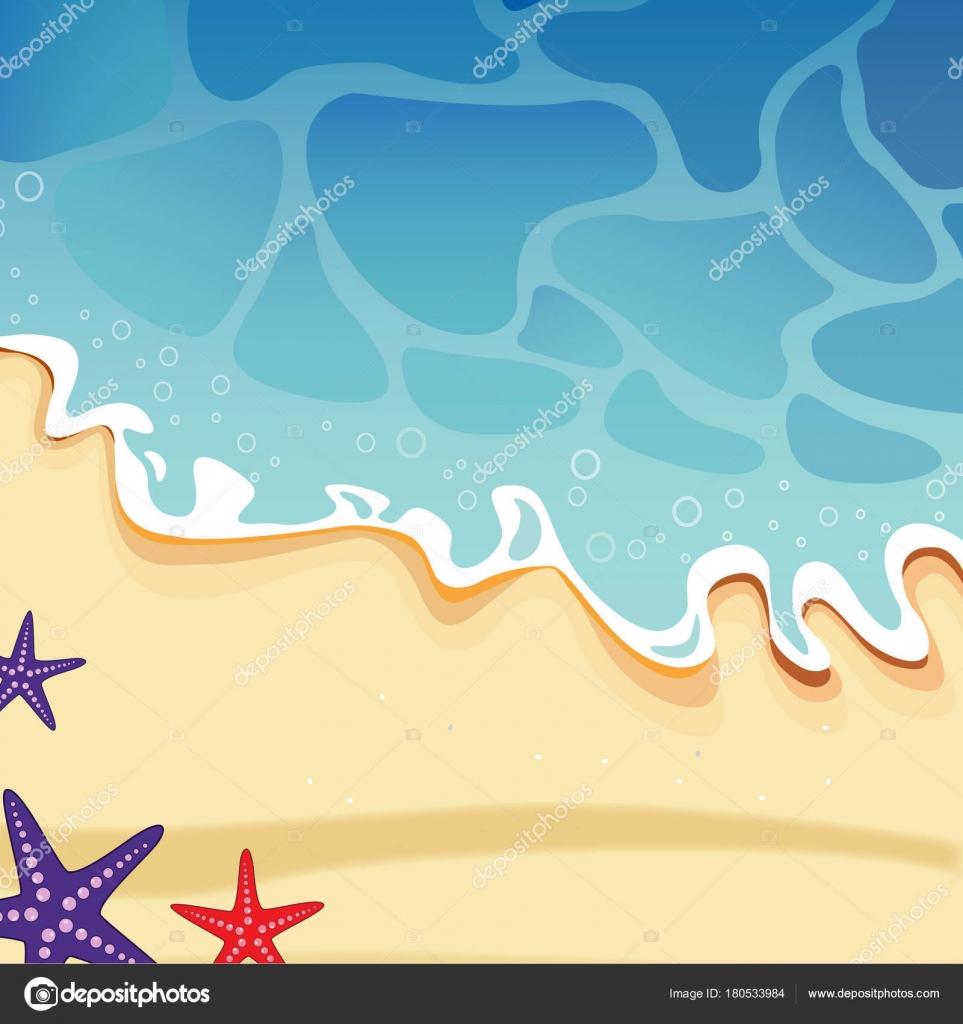 Spiaggia mare clipart vettoriali vettoriali stock for Clipart mare