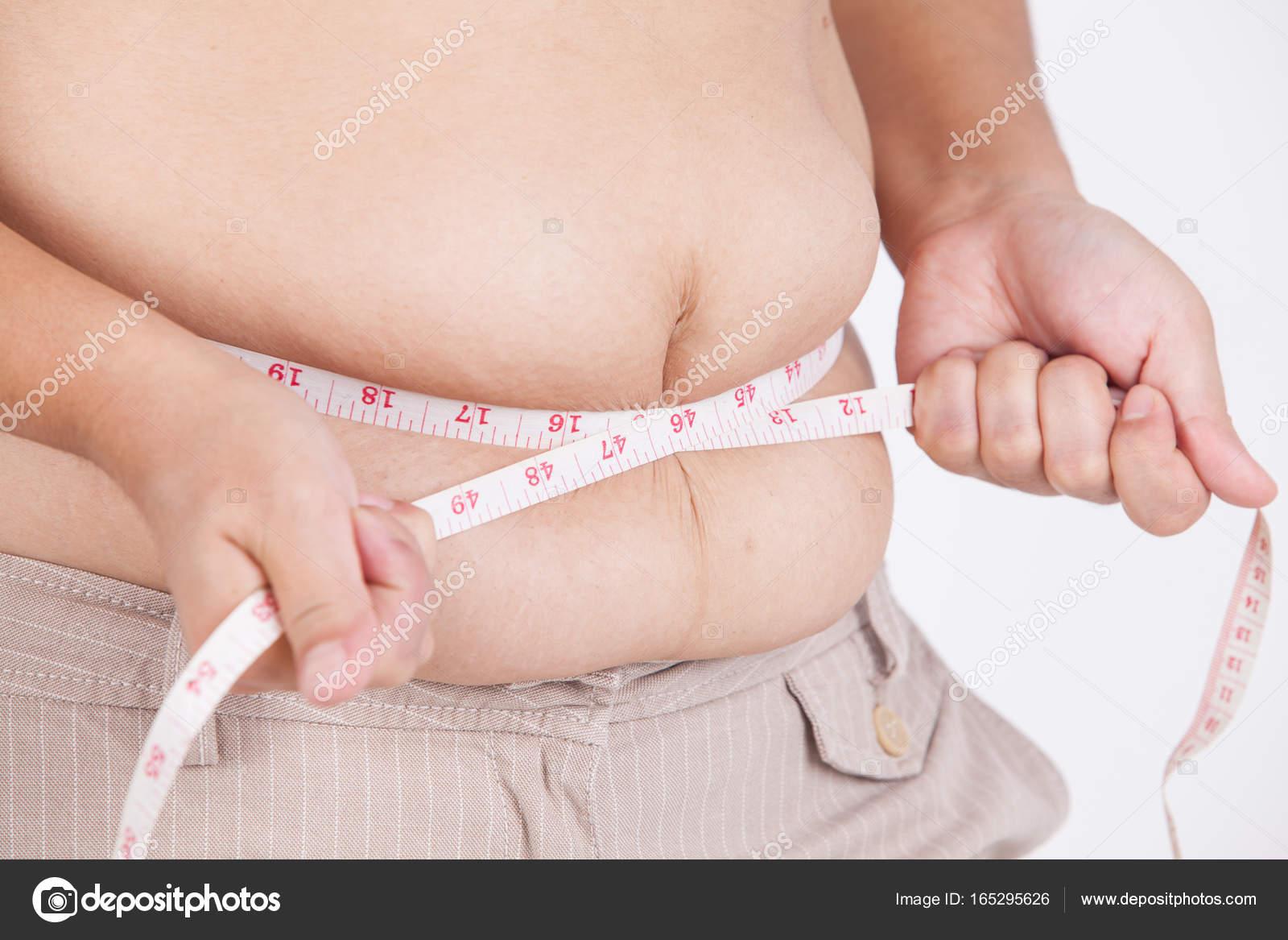 como medir el estomago