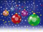 Veselé Vánoce a šťastný nový rok dekorace