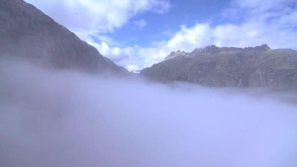 Berge Natur Luftaufnahmen zeigen schöne Landschaft Alpen Felsen