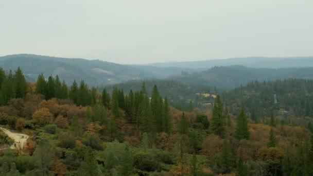 overview landscape grass valley scene