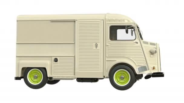 Food truck eatery car van
