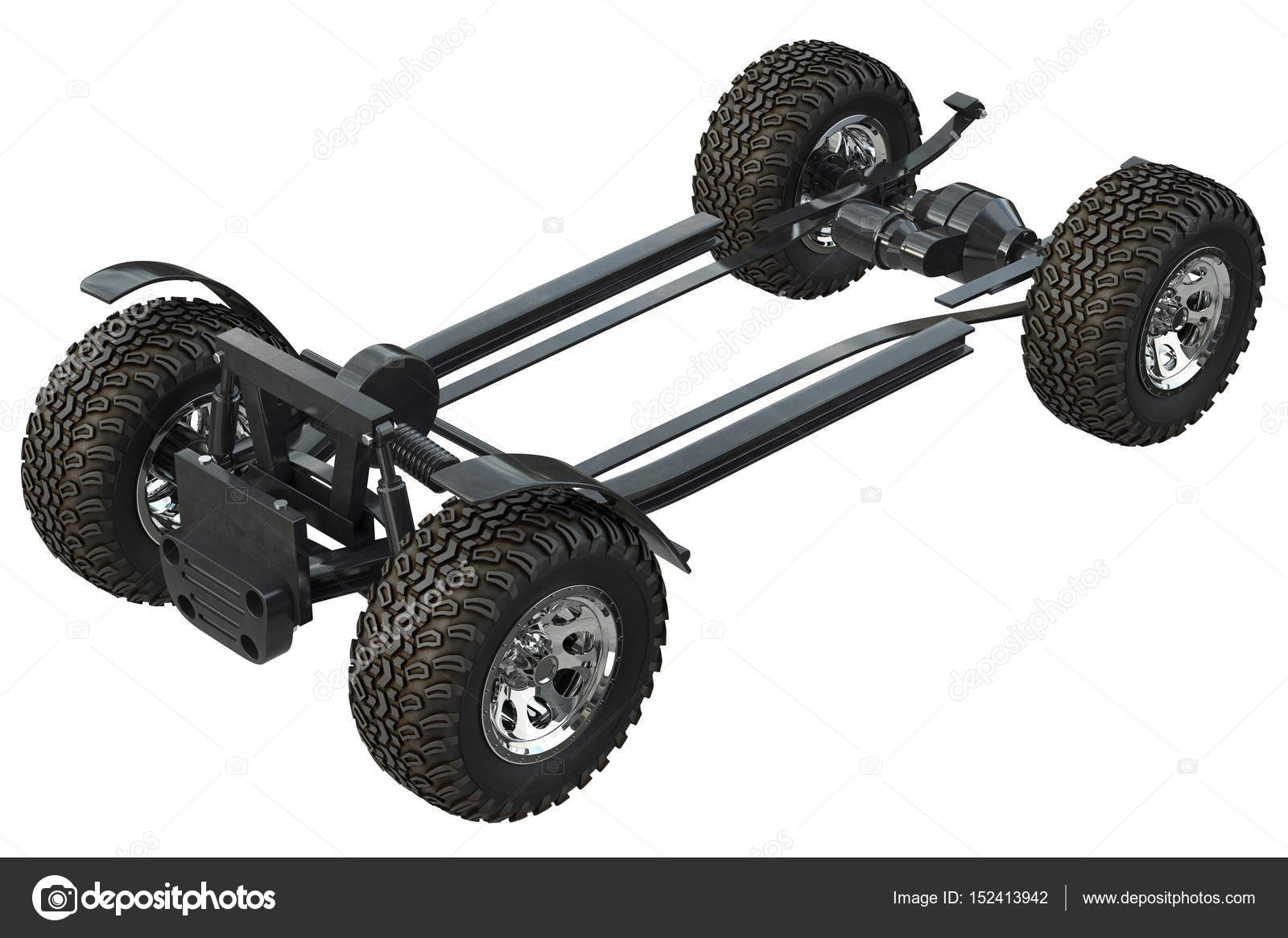 Golf car chassis frame — Stock Photo © ARTYuSTUDIO #152413942