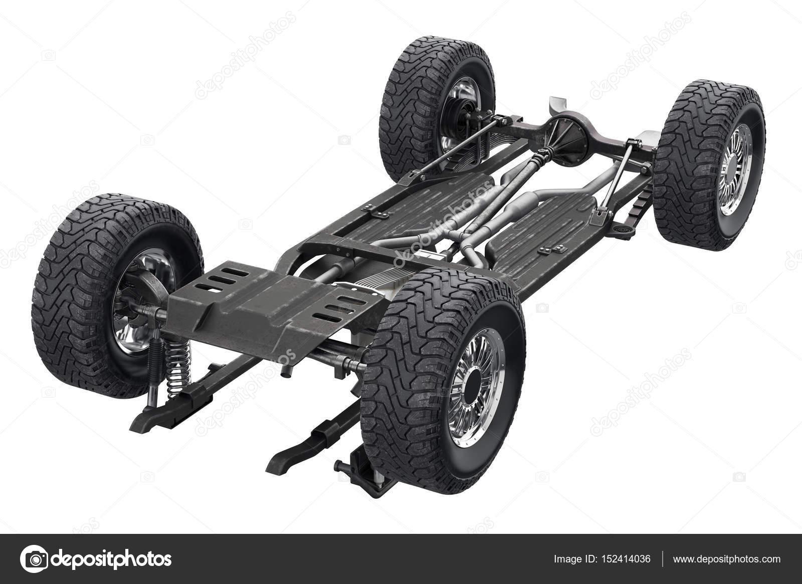 Chassis Rahmen Auto Fahrwerk — Stockfoto © ARTYuSTUDIO #152414036