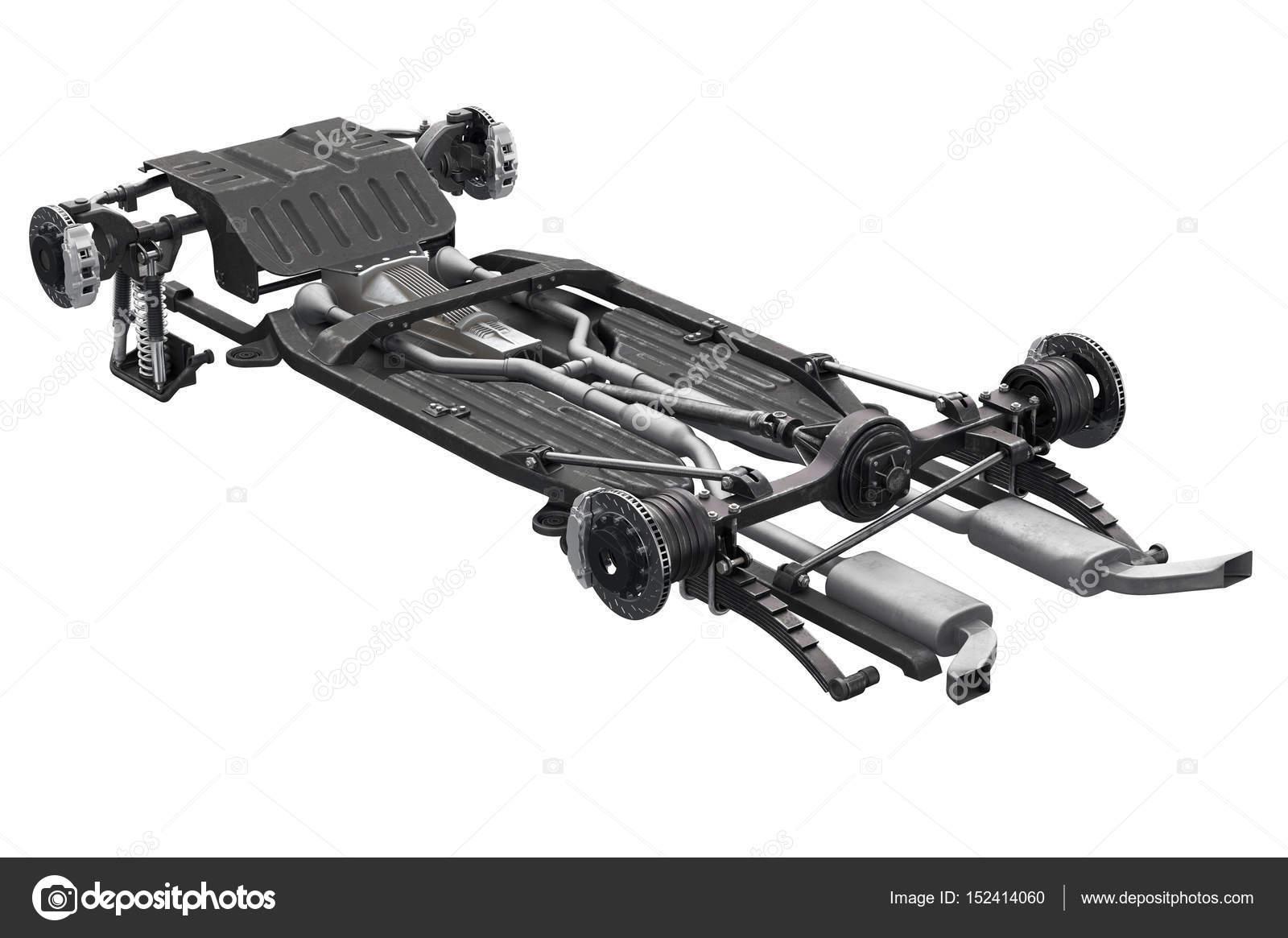 Chassis frame brake — Stock Photo © ARTYuSTUDIO #152414060