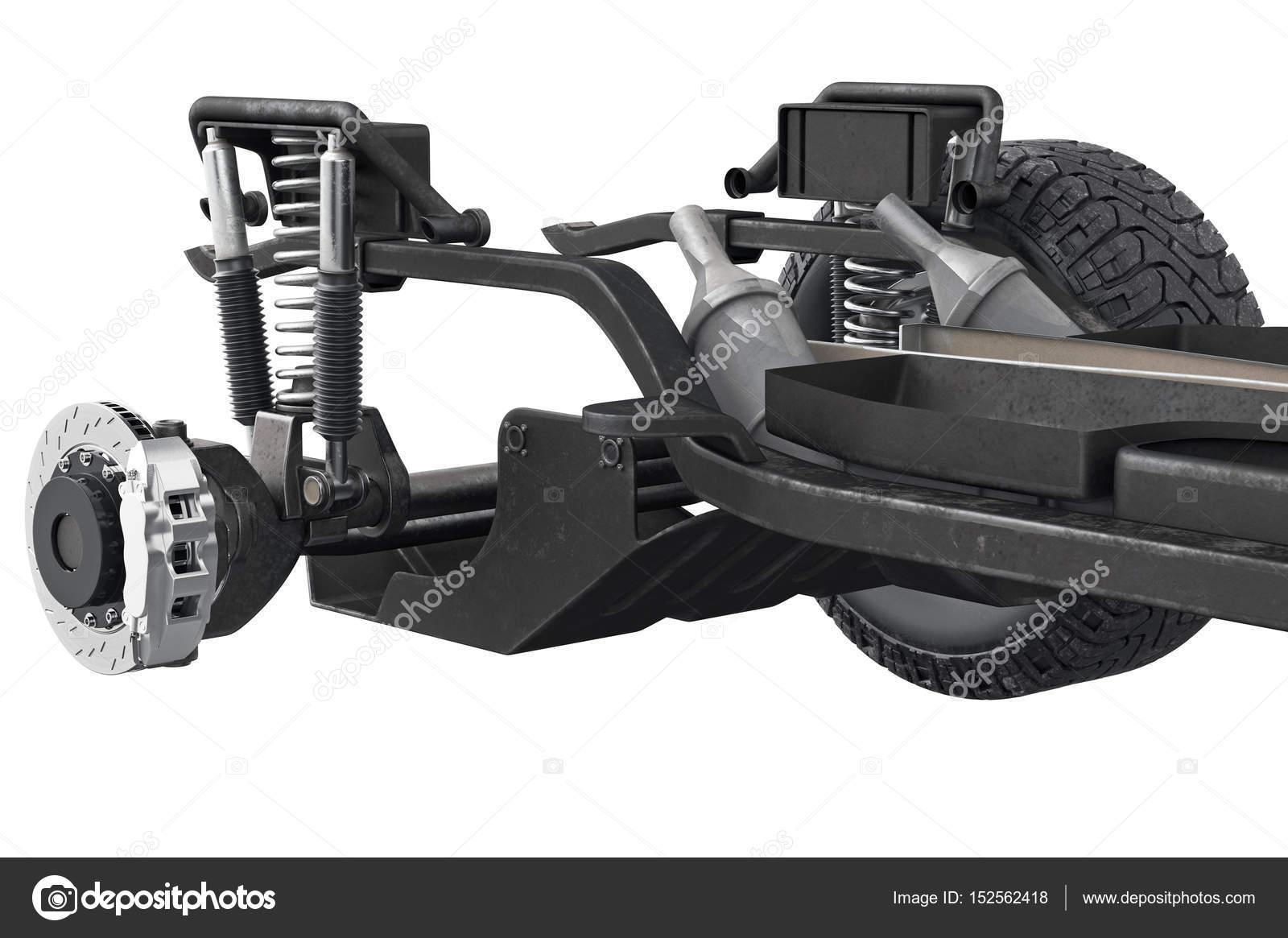 Chasis eje de marco, visión cercana — Foto de stock © ARTYuSTUDIO ...