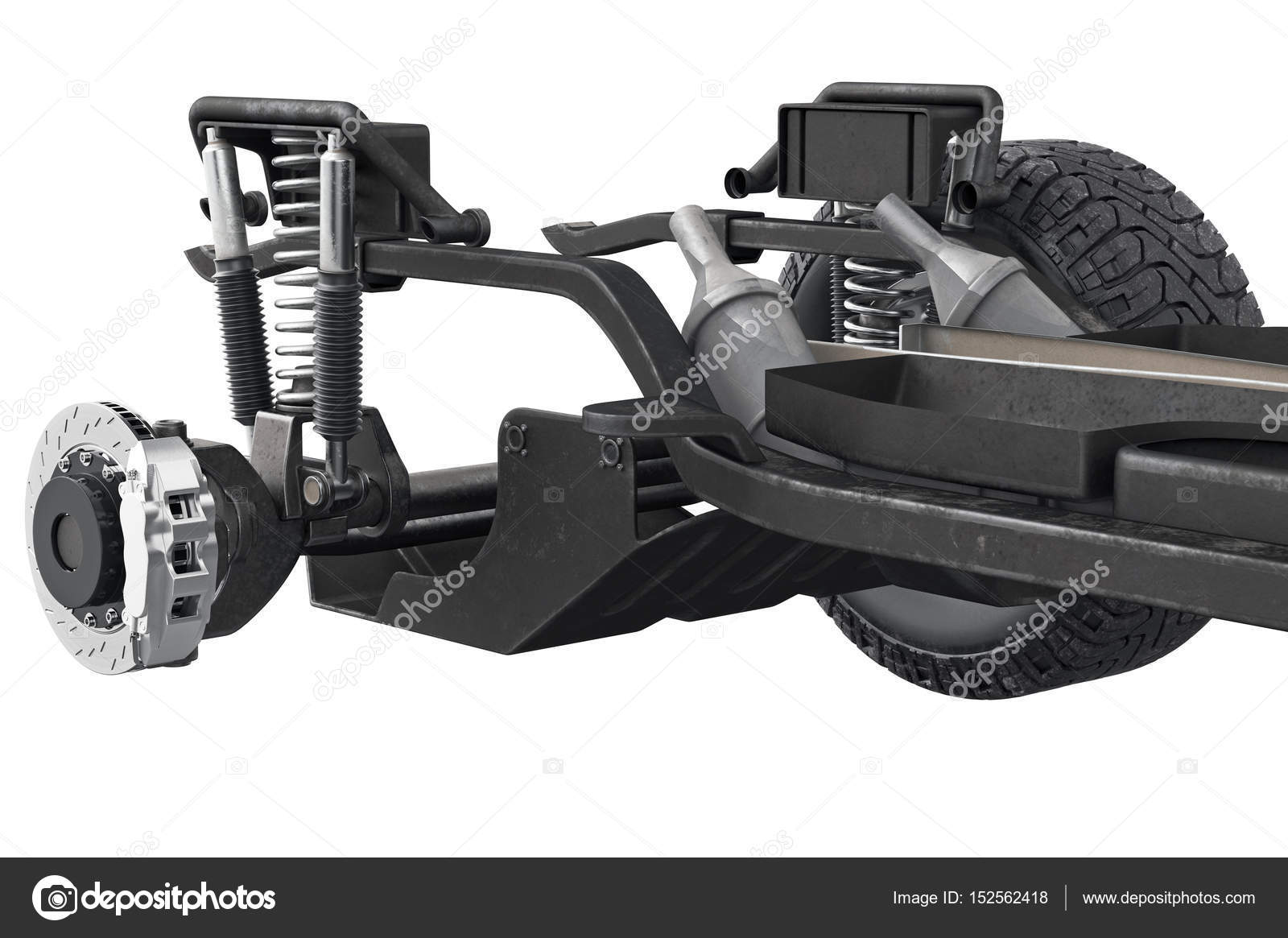 Chasis eje de marco, visión cercana — Fotos de Stock © ARTYuSTUDIO ...