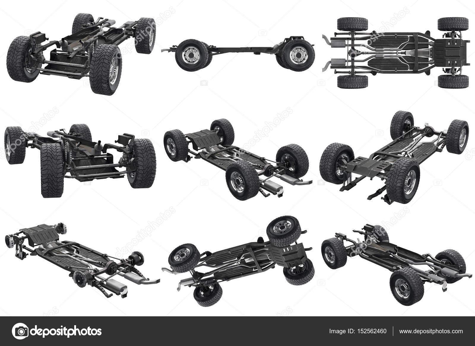 Chassis Rahmen Auto set — Stockfoto © ARTYuSTUDIO #152562460