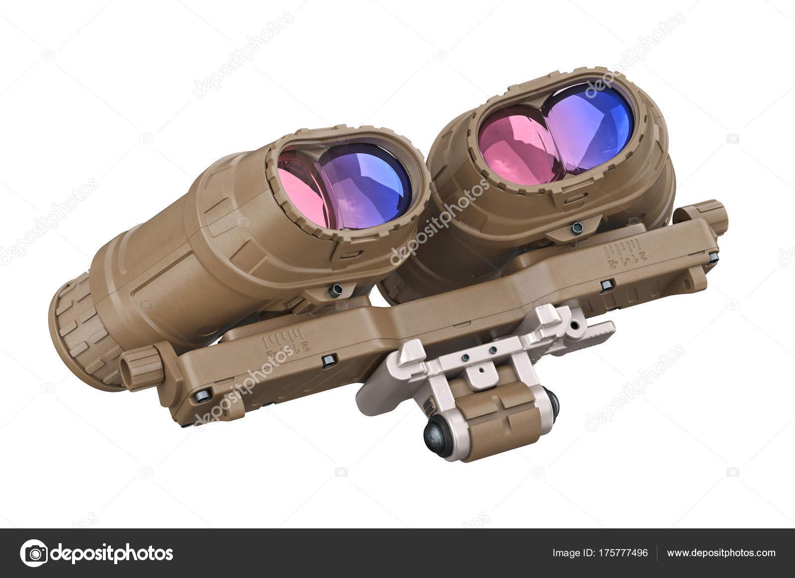 Nachtsicht militär u stockfoto artyustudio