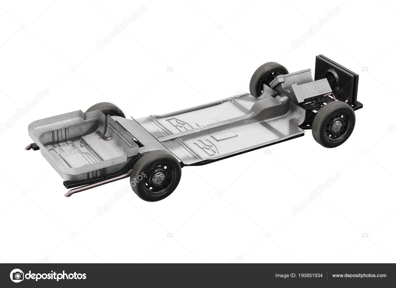 Chassis frame car — Stock Photo © ARTYuSTUDIO #190851934