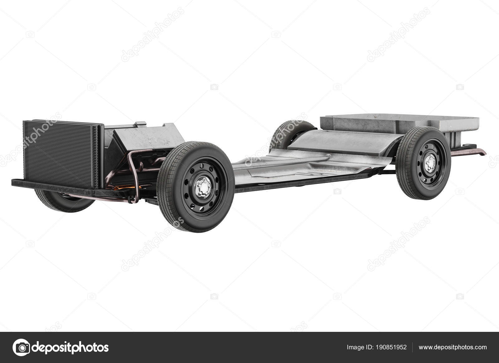 Chassis Rahmen Auto — Stockfoto © ARTYuSTUDIO #190851952
