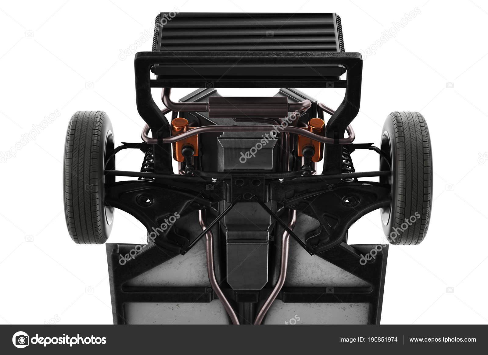 Chassis Rahmen Auto, Nahaufnahme — Stockfoto © ARTYuSTUDIO #190851974