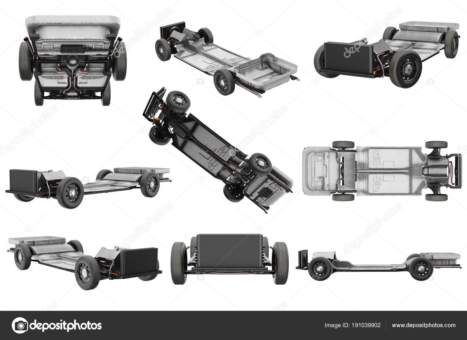 Chasis bastidor coche juego — Fotos de Stock © ARTYuSTUDIO #191039902