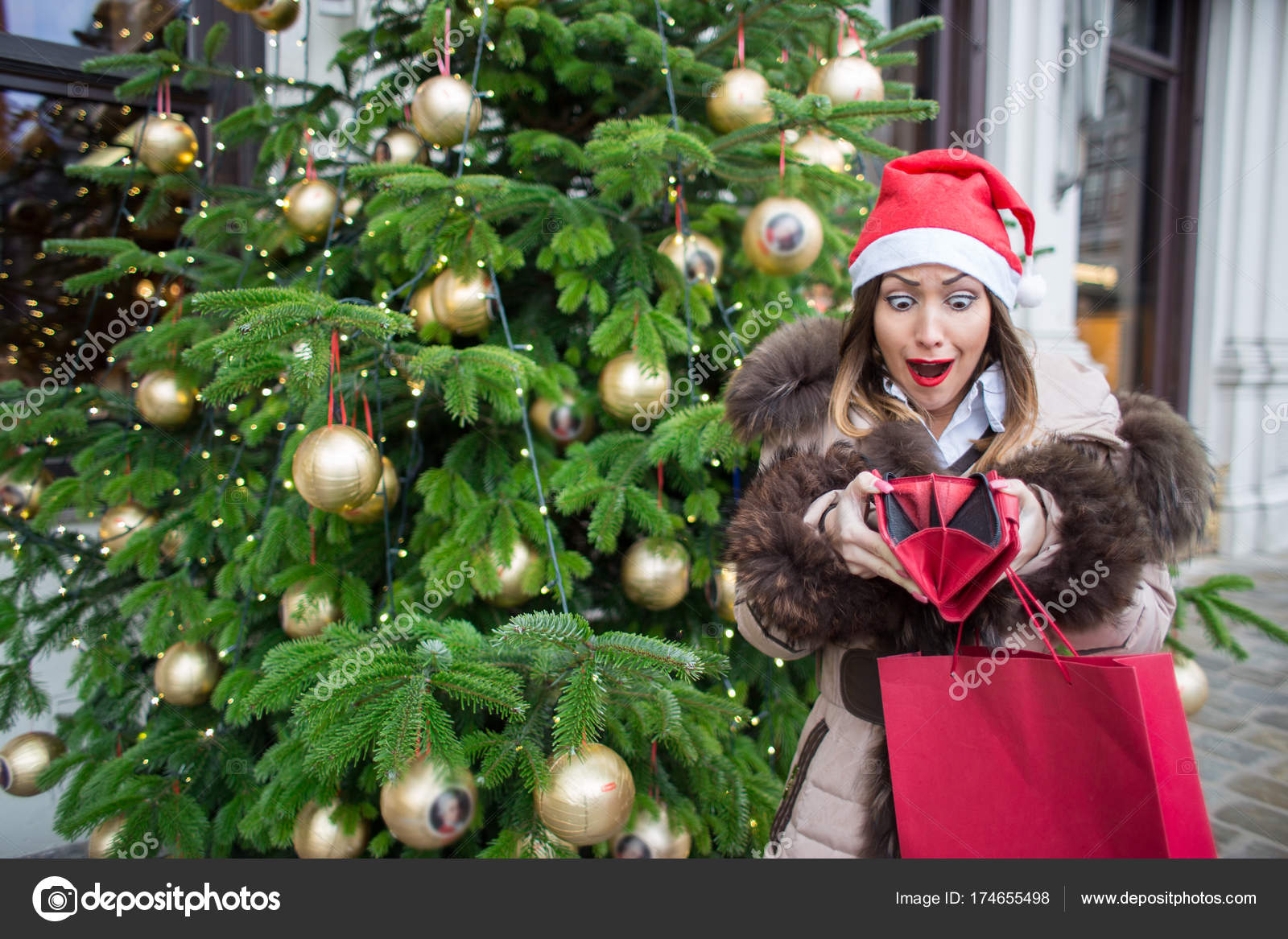 No more money for christmas shopping — Stock Photo © KM-Photography ...