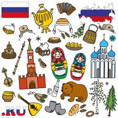 Russian symbols, travel Russia, Russian traditions